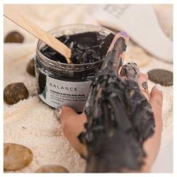 BALANCE безсульф очищаюча чорна маска для  шкіри голови, волосся та тіла  250 мл