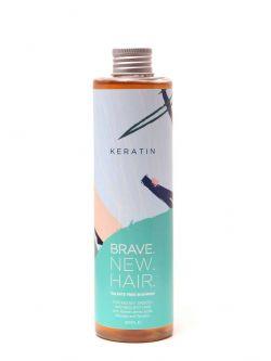 Безсульфатний шампунь для неслухняного, жорсткого і сухого волосся KERATIN BRAVE NEW HAIR Biopharma 250 мл