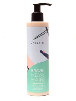 Дисциплинирующий бальзам (кондиционер) для непослушных, жестких и сухих волос KERATIN BRAVE NEW HAIR Biopharma 250 мл