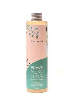 Шампунь для медленно растущих волос, склонных к выпадению GROWTH (рост) BRAVE NEW HAIR Biopharma 250 мл