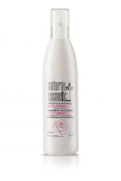Лосьйон для очищення обличчя з олією троянди