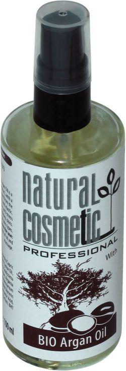 Масажна олія для обличчя з аргановою олією
